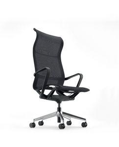 Evolution A, Chaise de bureau en maille avec dossier haut
