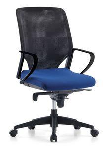 Karina AIR 01, Gestion chaise de bureau, dossier maille