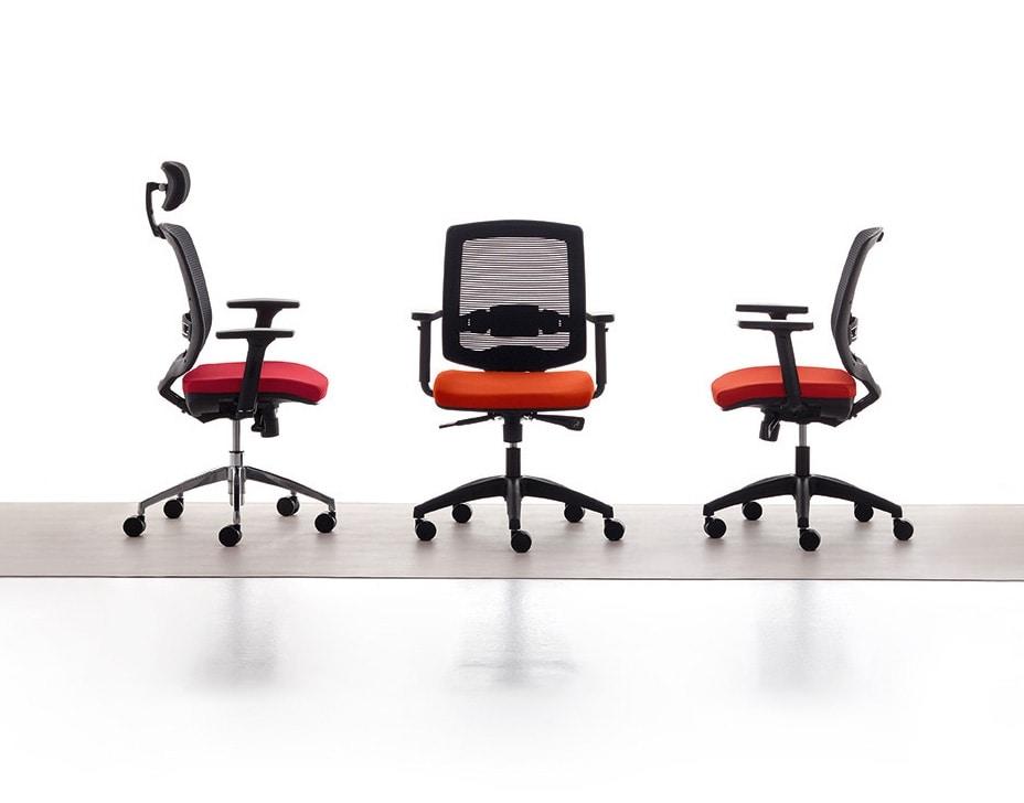 New Malice 01 PT, Chaise de gestion pour studio professionnel, ergonomique