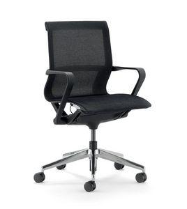UF 548 / B, Chaise de bureau avec dossier bas