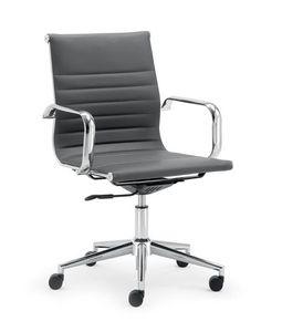 UF 598 / B, Chaise de bureau avec dossier bas