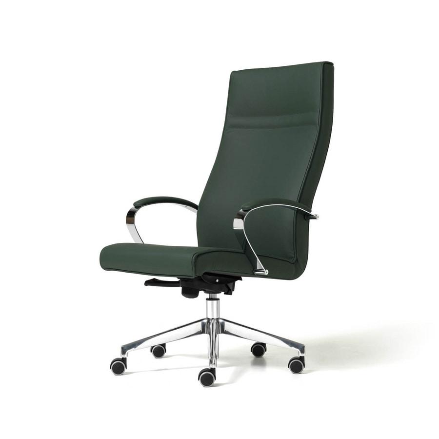 Venus, Chaise avec 5 branches, ergonomique, pour le studio professionnel