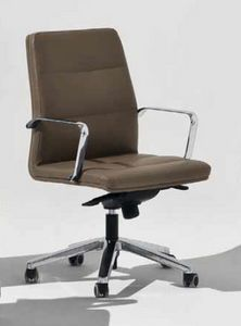 Venus-D, Chaise de bureau rembourrée à roulettes