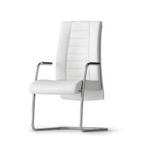 TAIT, Chaise d'attente pour bureau, avec piètement luge