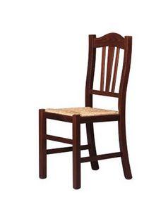 200, Salle à manger chaise avec dossier décoré, pour des vacances de ferme
