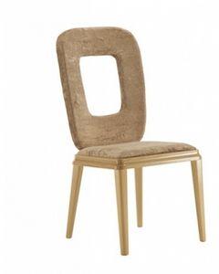Art. VL120, Chaise rembourrée, dans un style moderne