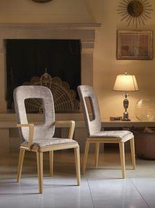 Art. VL121, Chaise avec accoudoirs pour salle à manger