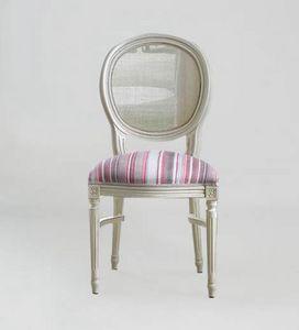 S07STK, Chaise classique avec dossier rond en canne