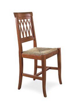 SE 157, Chaise de salle à manger robuste, en bois, dans un style rustique