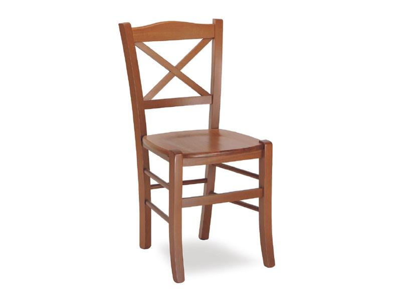 SE 452, Chaise en bois massif, en style rustique, pour la pizzeria