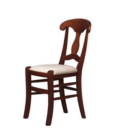 216, Massif Chaise rustique en bois, pour les restaurants et pizzerias