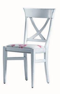 Annie BR.0211, Chaise laqué, assise, sans accoudoirs