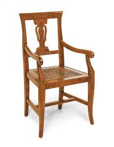 Art.103/A, Chaise avec assise en paille de vienne