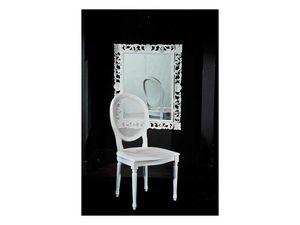 LUIGI XVI chair (with cane) 8323S, Salle à manger chaise, robuste, dans la canne, pour hôtel