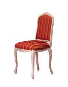 1004, Chaise classique en hêtre travaillé, pour hôtel de style