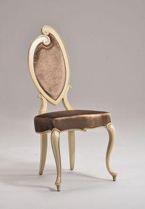 KATE chaise 8625S, Chaise en hêtre à la main, pour la salle à manger