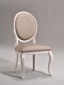 LICA chaise 8432S, Salle à manger chaise, siège rembourré, pour le salon