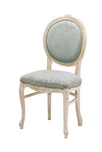 S05, Chaise avec base de hêtre, tapissé, dans un style classique
