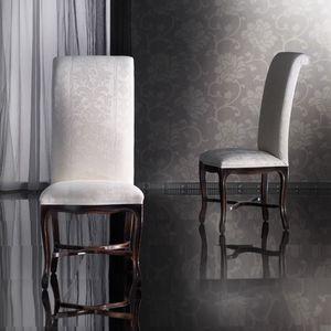 SISSI chaise 8491S, Chaise en hêtre à la main, haut, classique