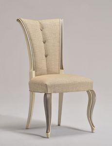 VANNA chaise 8644S, Salle à manger chaise, vieux style, rembourré, pour living