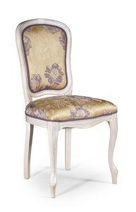 Vittoria, Chaise rembourrée sans accoudoirs, style classique
