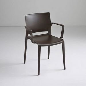 Bakhita B, Chaise empilable polymère, pour une utilisation du contrat