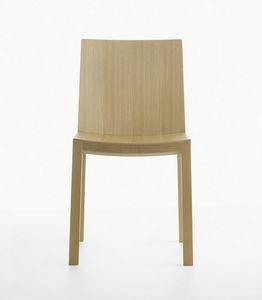 Bianca R VS/SU, Chaise en bois massif