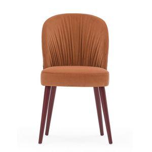 Rose 03010, Chaise rembourrée pour restaurants et hôtels