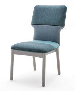 Twiggy 04111, Chaise recouverte de bois