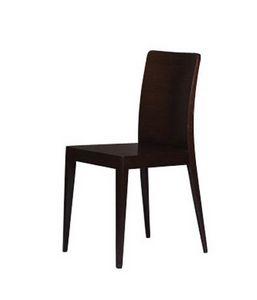 336 B, Chaise design en chêne, pour la cuisine moderne