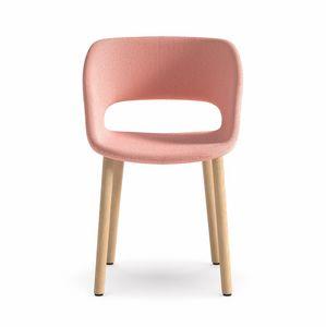 Kabira 4WL, Chaise design en bois