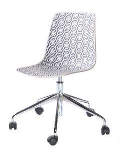 Alhambra 5R, Chaise avec base pivotante avec roulettes, pour le bureau