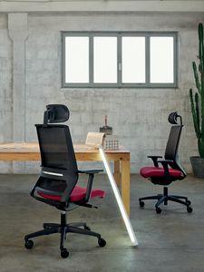 Logica 01 PT, Siège de travail pour bureaux modernes