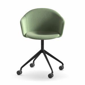 Máni Armshell fabric HO 4, Fauteuil pivotant pour bureau à domicile