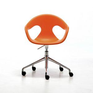 Sunny HO, Chaise de bureau à domicile, pivotant et réglable en hauteur