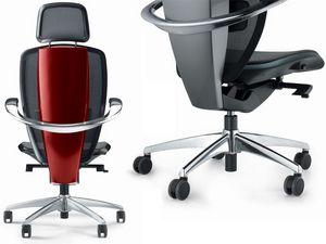 XTEN, Chaise de bureau ergonomique, conçu par Pininfarina, haute technologie