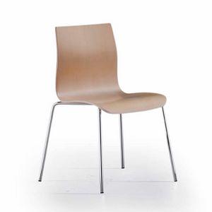Juma, Chaise au style épuré et linéaire