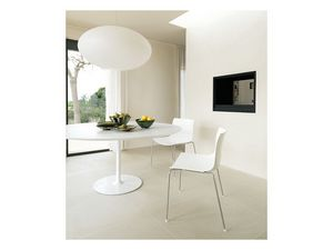 Catifa 53 0201, Chaise de métal formelle, pour la conception de restaurant