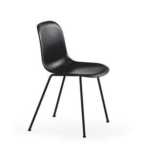 Máni 4L-PLUS, Chaise en acier et polypropylène, en plusieurs couleurs
