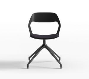 Mixis Air R_PB/SU, Chaise pivotante avec assise rembourrée
