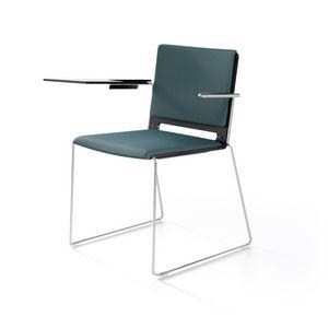 Multi con braccioli, Chaise moderne avec accoudoirs, pour le contrat et la maison