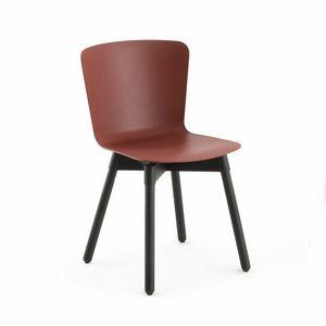 s24 martina, Chaise avec assise en polypropylène