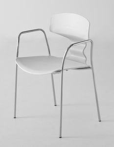Tolo TB, Chaise design avec accoudoirs
