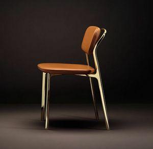 Coast Chair, Chaise avec un mélange de lignes rigoureuses et douces