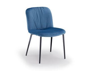 Effie-M, Chaise en métal rembourrée