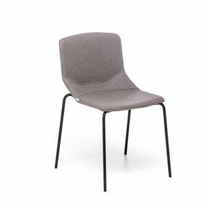 Formula Slim 4L, Chaise avec siège rembourré, à usage contractuel et résidentiel