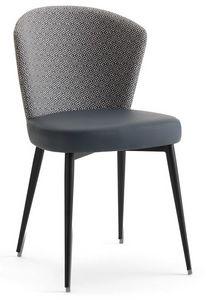 Greta-SM, Chaise de salle à manger rembourrée