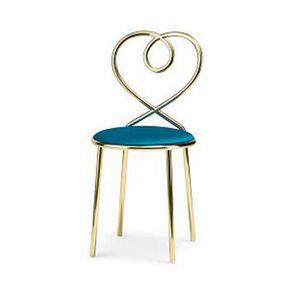 Love Chair, Chaise avec dossier en forme de cœur