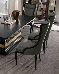 Dilan Art. D10, Chaise de salle à manger avec repose-tête