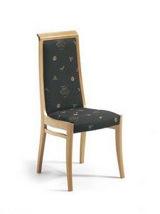 Giada I, Chaise moderne à haut dossier pour pizzerias